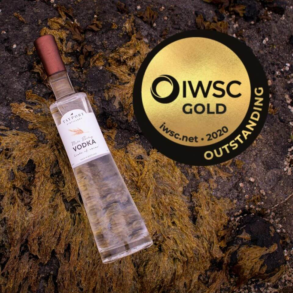 Tayport Distillery wins gold outstanding at The IWSC Awards