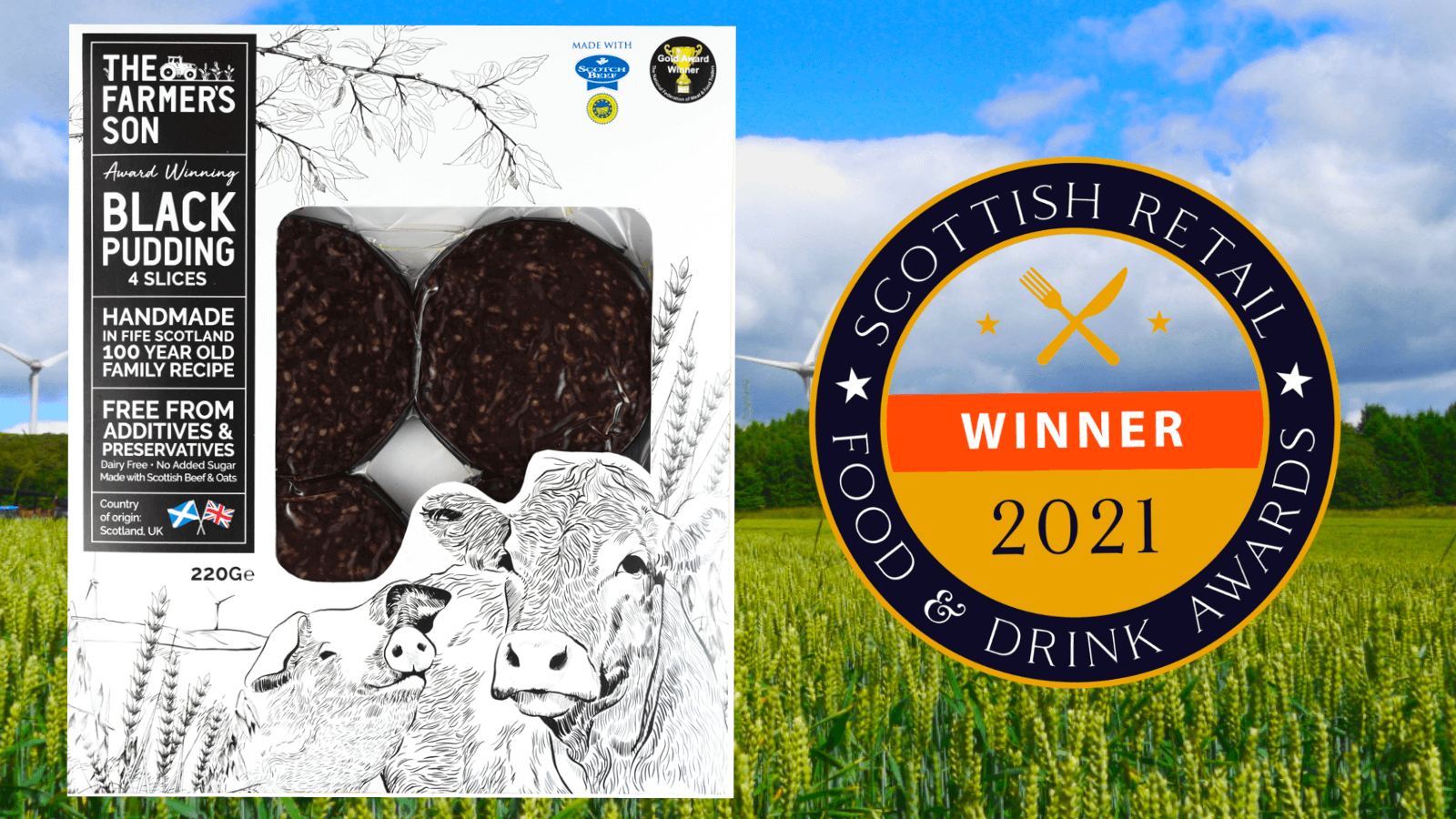 The Farmer's Son Black Pudding Given A Stamp of Approval At Scottish Retail Awards