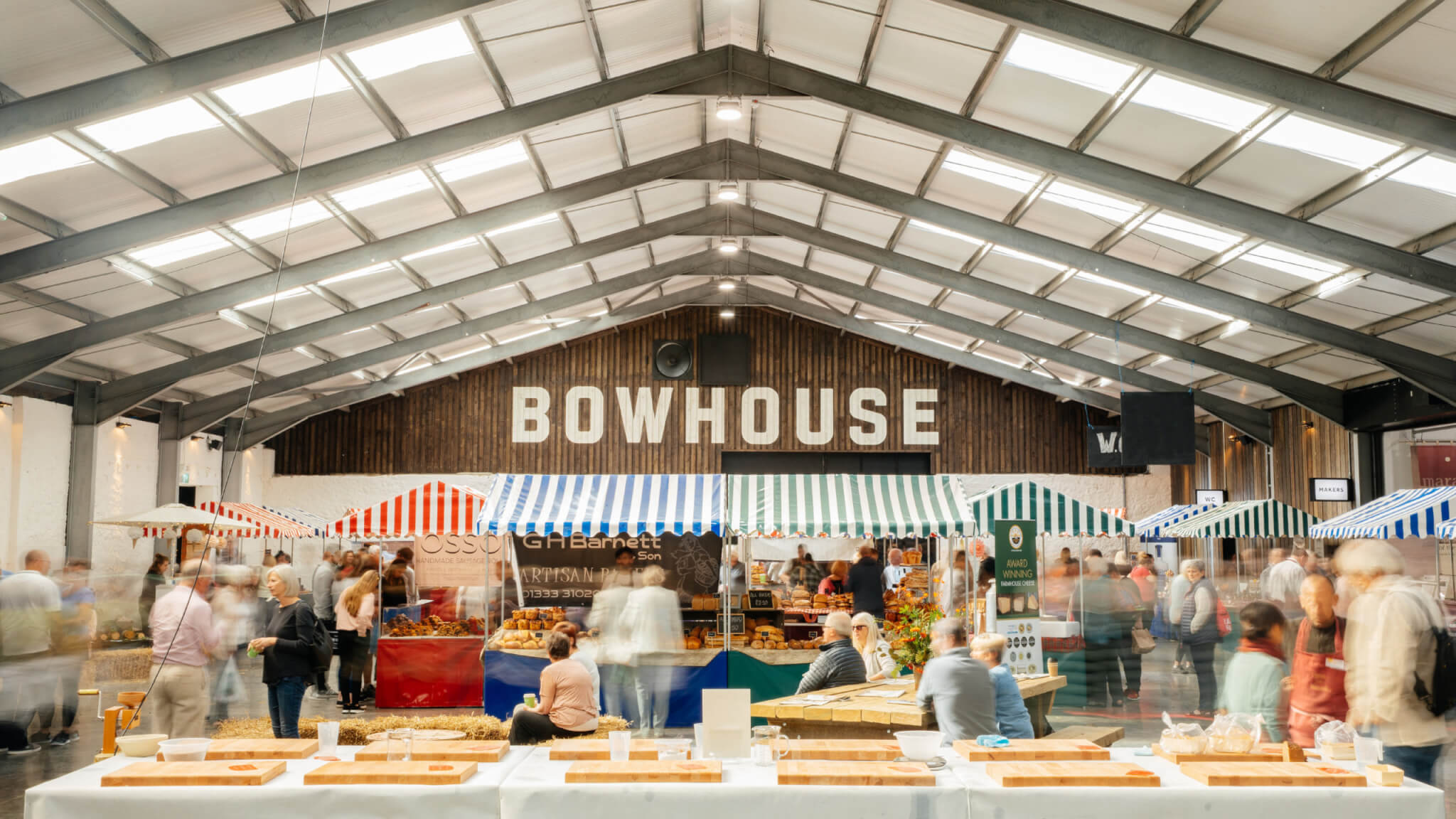 Bowhouse market weekends finalist for Great British Food Awards