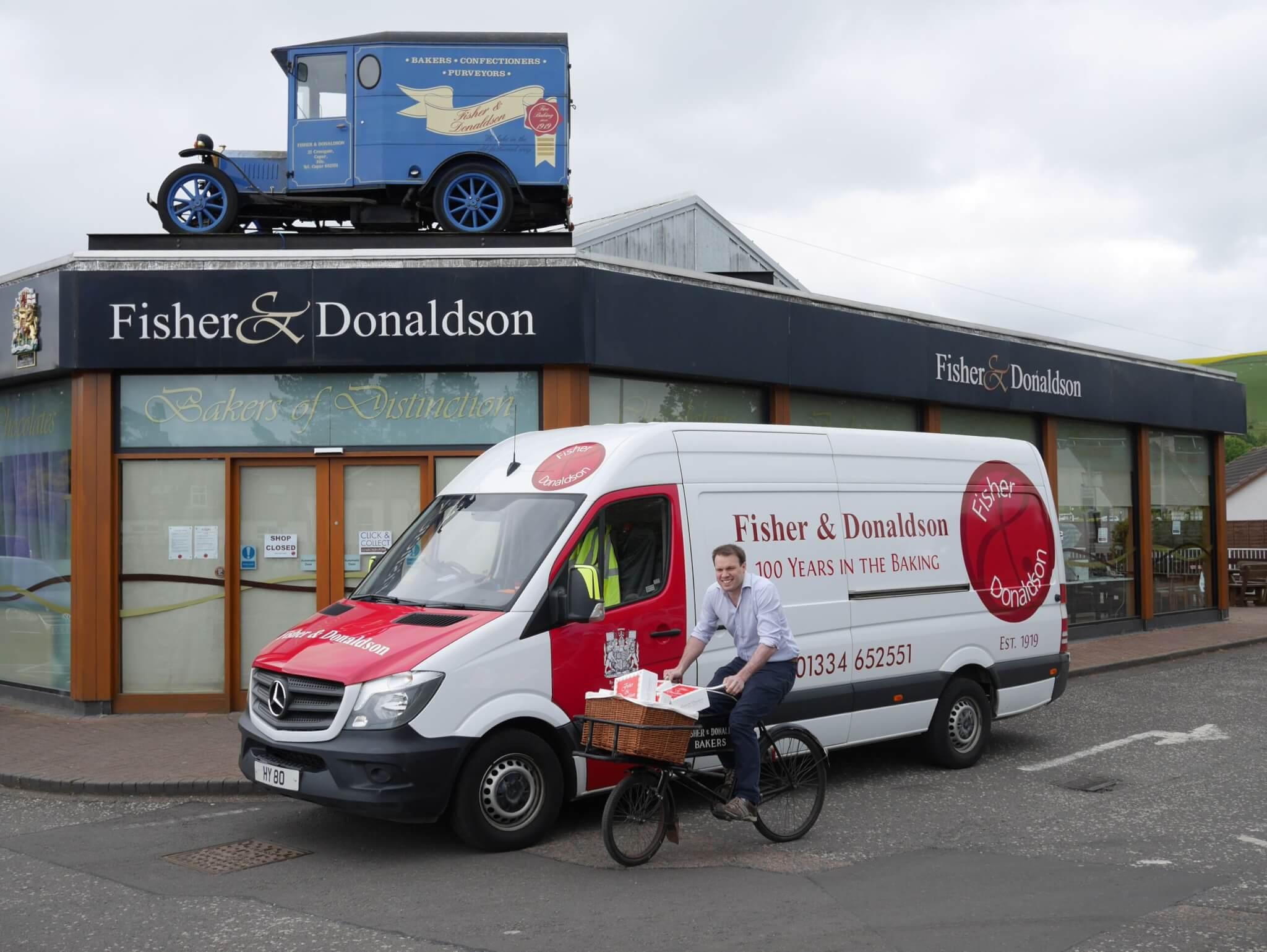 Scottish bakery creates 'Class of 2020' celebration platter